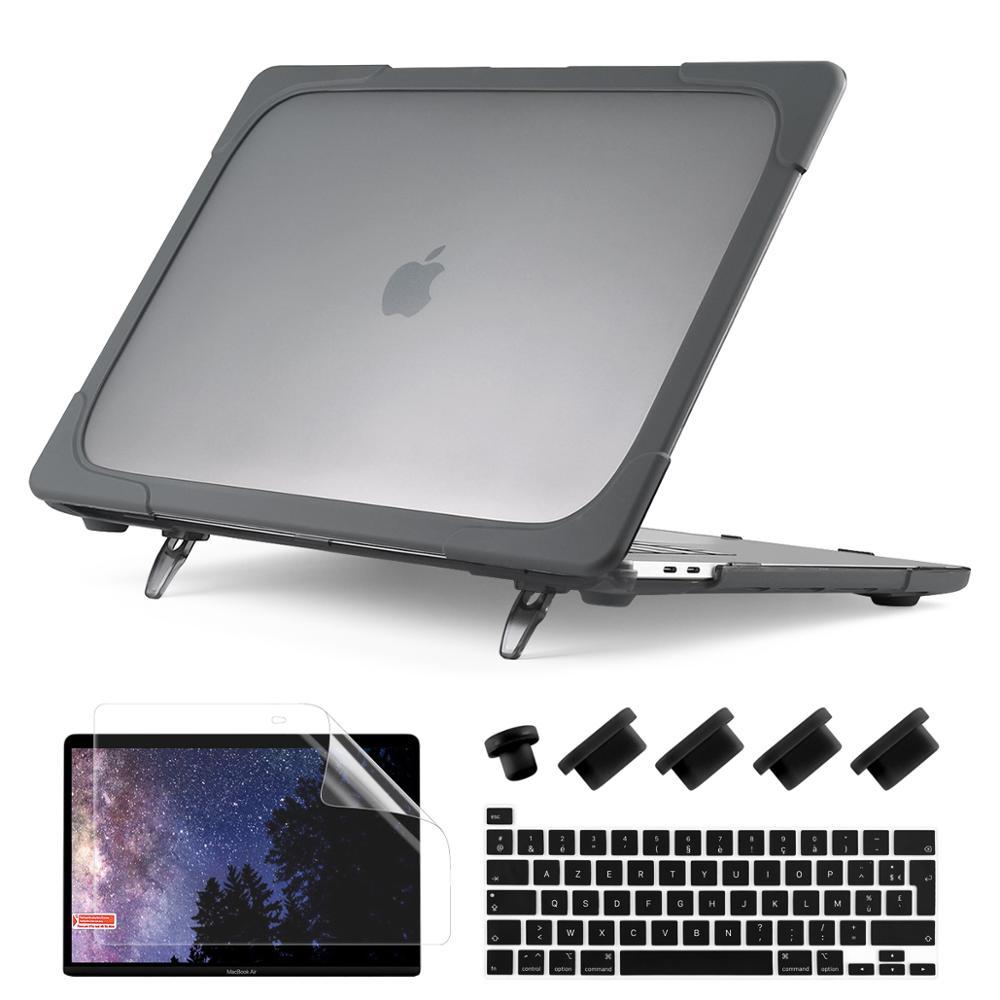 Portátil dobrável caso suporte para macbook ar pro retina 11 13.3 15.4 16 polegada com barra de toque novo ar pro 13 2020 2019 a2179 a1932