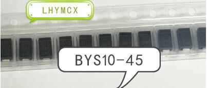 20PCS BYS10 45 BYS045 BYS10 45 E3/TR SMA