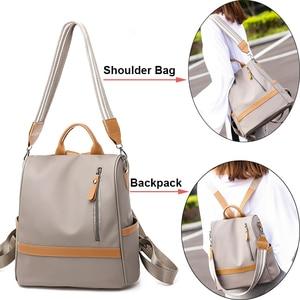 Image 3 - Anti theft Women Backpacks Waterproof Nylon Women Backpack Ladies Large Capacity Backpack High Quality Bagpack sac a dos