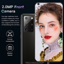 Note23 Pro+ Android Moblie Phone RAM 2 ROM 16GB Face Unlocked Smartphones 7.2-inch 2 SIM Card Cellphone
