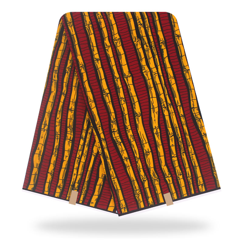 African Wax Prints Fabric Wax Soft 100% Cotton 6 Yards/pcs Guarantee  Real Wax For Patchwork Sewing