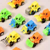 Mini coche de juguete para niños, juguete de coche con retroceso, sin batería, vehículo móvil, camión, construcción, regalo