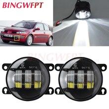 2 pcs/pair LED ערפל אורות H11 עבור רנו מגאן 2 סלון LM0 LM1 2003 2015 עבור רנו Twingo השני hatchback CN0 2007 2015