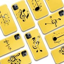 ciciber Funny Music Symbol Phone Case for iPhone
