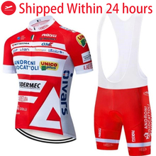 2020 Orange VINI cycling TEAM jersey 20D bike shorts suit Ropa Ciclismo mens summer quick dry PRO bicycle Maillot Pants clothing