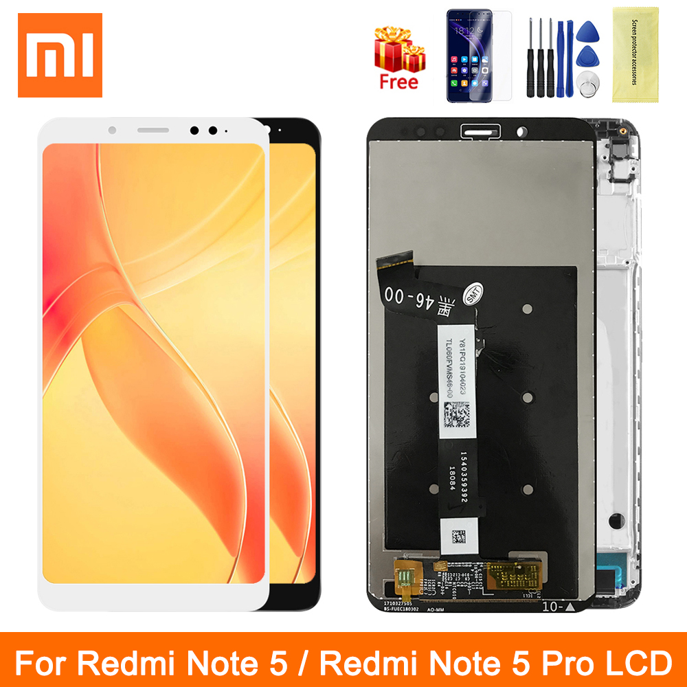 Original Redmi Note5 Lcd For Xiaomi Redmi Note 5 LCD Display Touch Screen With Frame Digitizer Assesmbly For Note 5 Pro 5pro