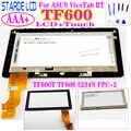 Pour ASUS VivoTab RT TF600T TF600 TF600TG 5234N FPC-2 LCD Displa; y écran tactile numériseur assemblée pièce de rechange
