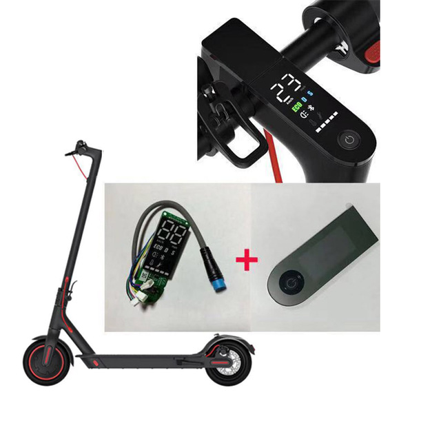 Replacement Kits Xiaomi M365 Scooter Bluetooth Circuit Board with Speedmeter Electric Scooter Dashboard Scooter Accessories