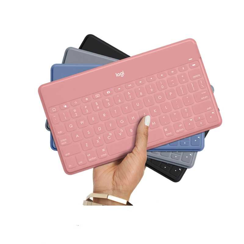 Logitech KEYS-TO-GO Tastiera per iPad, iPhone, Apple TV, tastiera senza fili di Bluetooth Portatile di Marca Nuovo Originale ik1041R