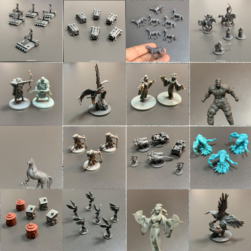 New Arrival Lot Dungeon And Dragons Role Playing Board Games Miniatures D & D Model Wars Game Figures Toy