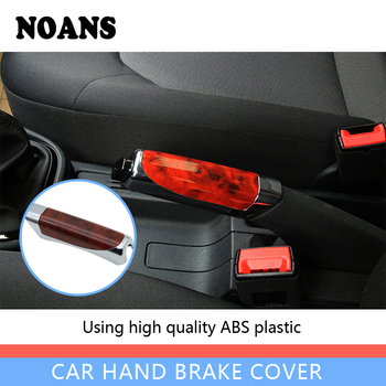 Car Accessories For BMW e46 e39 e36 Audi a4 b6 a3 a6 c5 Renault duster Lada granta Stop Shift Hand Brake Sticky Cover image