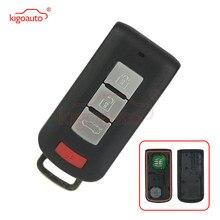 Kigoauto 3 chave Inteligente com botão de pânico 434mhz ID46 7952 8637A228 OUC644M-KEY-N para 2008-2017 Mitsubishi Lancer