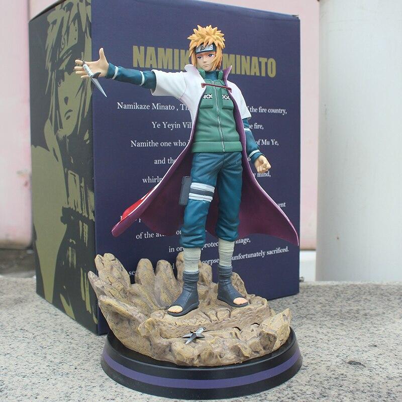 Figurine en pvc 30cm dessin animé NARUTO Yondaime
