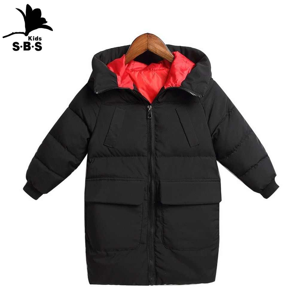 Kids Boy Printing Hooded Jacket Winter Children Down Warm Coat Clothes Boys Girls Outerwear Baby Girls Coats & Jackets