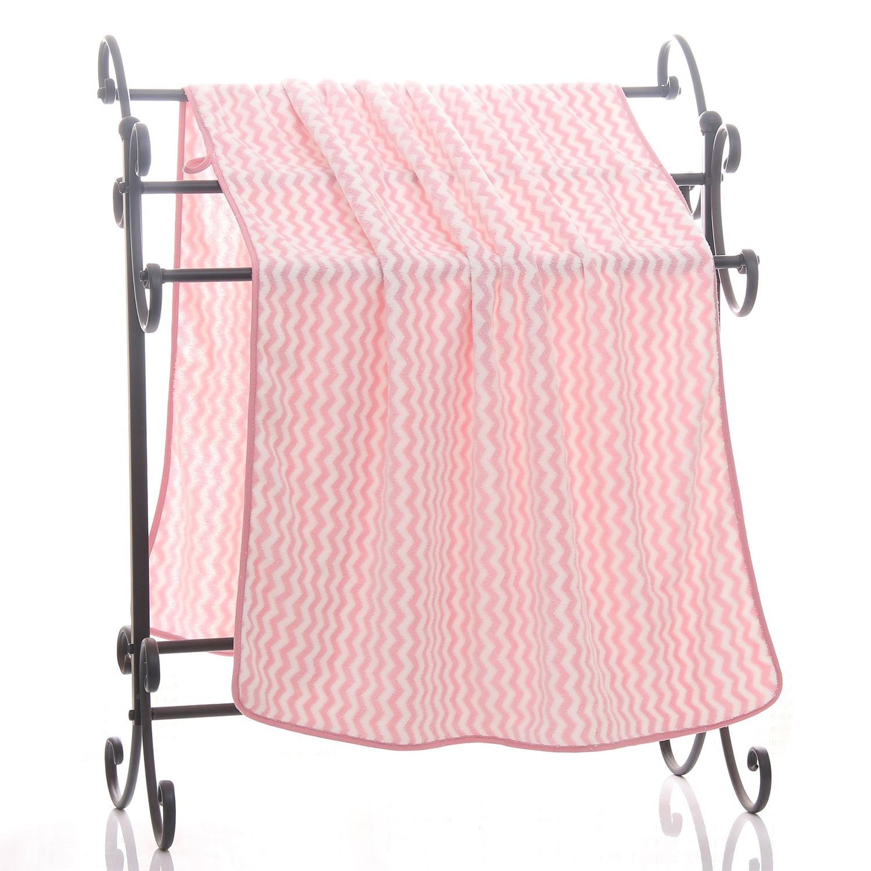 70 140cm Fast Drying Bathroom Towels Soft Fluffy Beach Towels Coral Fleece Salon Towels Multipurpose Plush