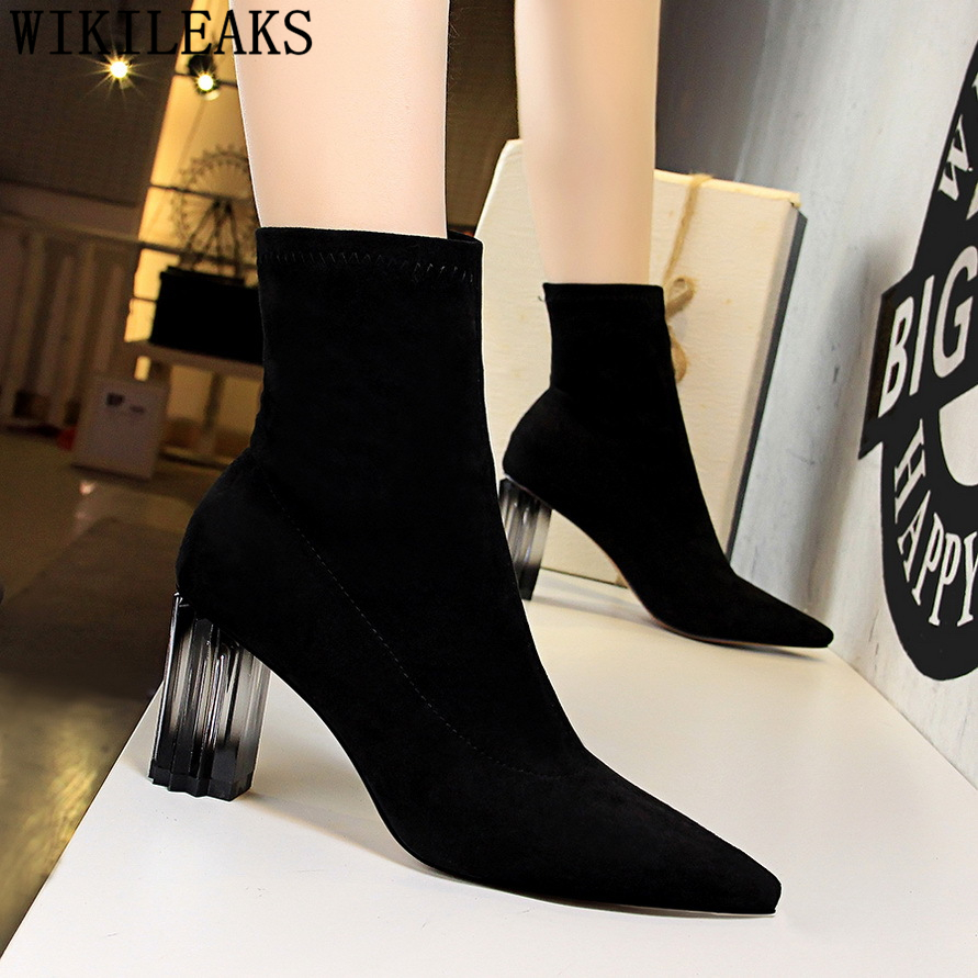 High Heel Boots Ankle Boots For Women