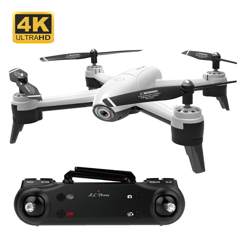 FPV Drone Dual Camera HD 4K 1080P 720P WIFI Dron 22 Mins Flight RC Helicopter Quadrocopter Aircraft RTF Toys For Children Gifts