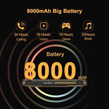 Cubot KingKong 5 Pro IP68/IP69K Waterproof Smartphone Rugged Phone 8000mAh 48MP Triple Camera Android 11 NFC 64GB Global 4G LTE 3