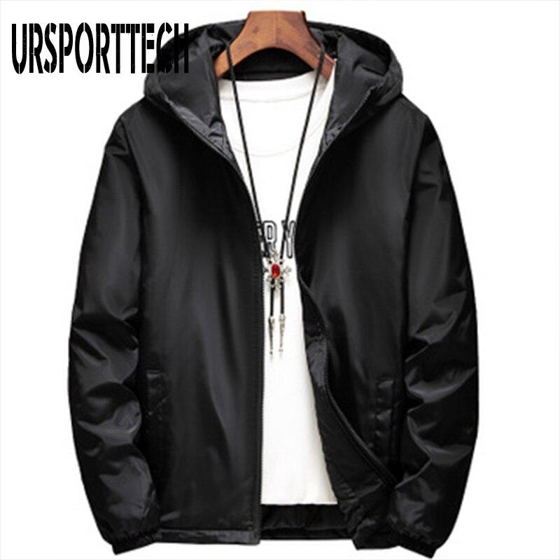 Мужские ветровки размера плюс S-6XL, водонепроницаемые ветрозащитные мужские куртки и пальто, зимние мужские куртки с капюшоном, верхняя одеж...