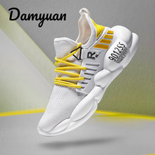 Damyuan 2019 Shoes Men Sneakers Lightweight Breathable Zapatillas Man Casual Shoes  Footwear Zapatos Hombre Mens Sneakers northmarch luxury fashion leather sneakers for men elastic band shoes men breathable casual shoes men footwear zapatos hombre