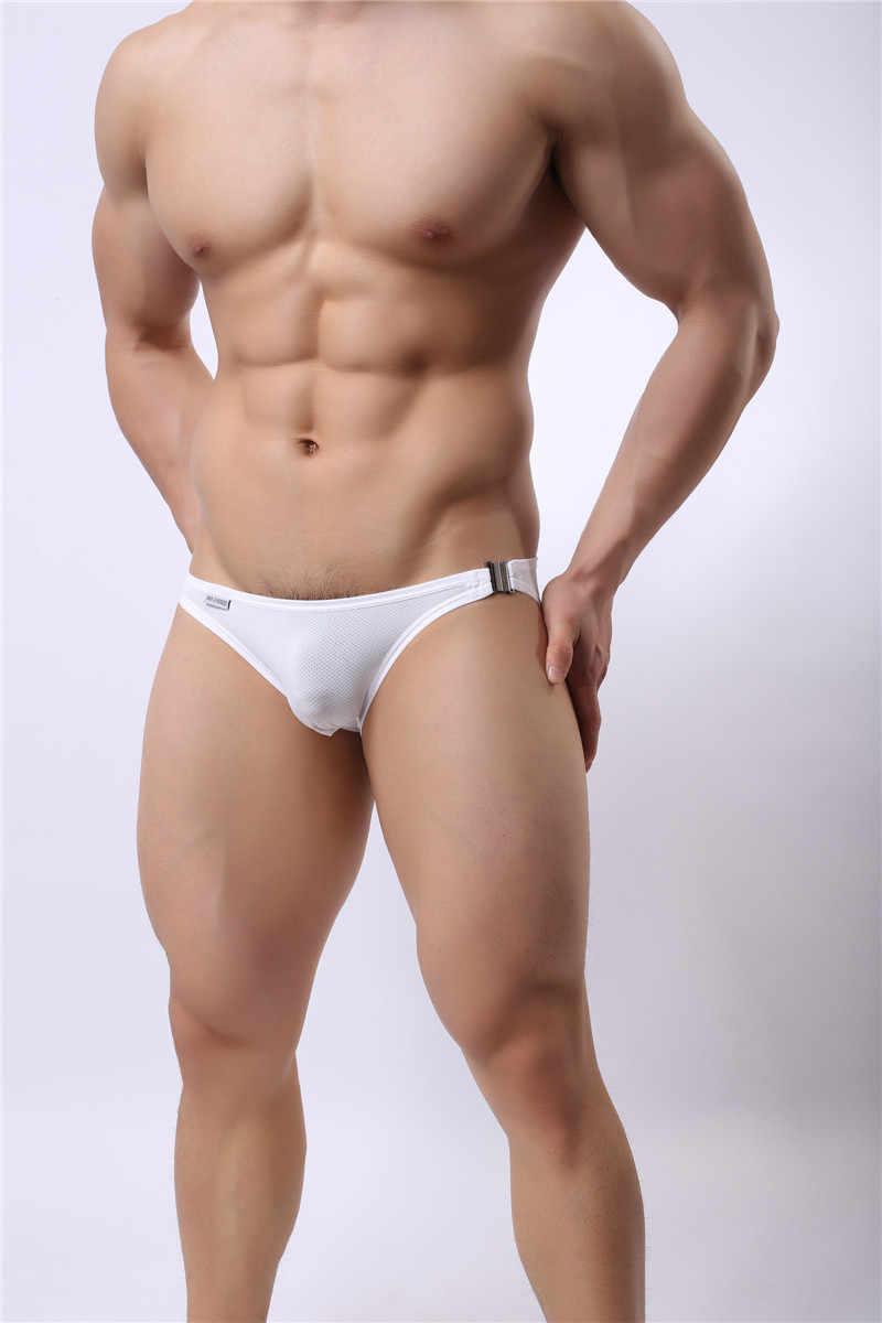 جديد شورت سباحة رجالي شنق مشبك السباحة Trunks مثير منخفضة الخصر السباحة ملخصات مثلي الجنس الرجال ملابس السباحة الملاكمين ملابس السباحة Sunga