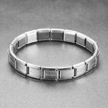 Браслет викинга эластичный браслет из нержавеющей стали Женский Мужской очаровательный стальной браслет 9 мм в ширину, 175 мм в длину, весит 15 грамм
