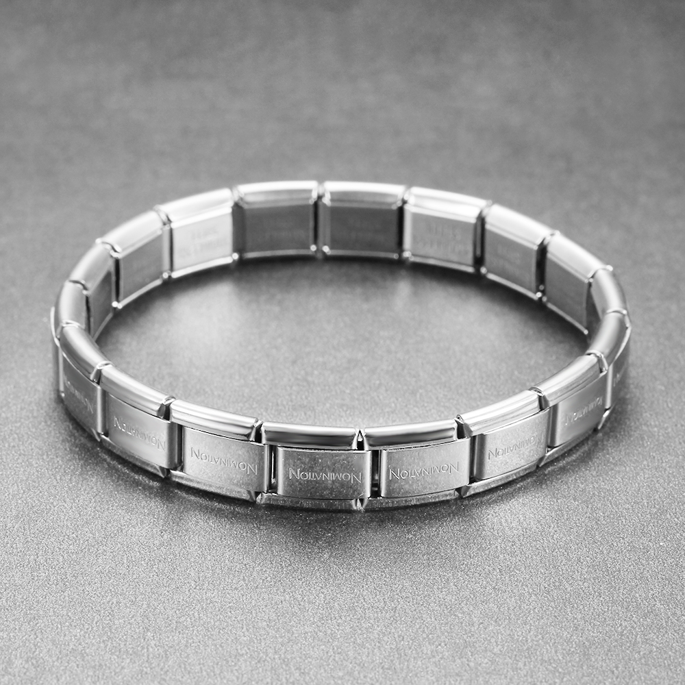 Viking Bracelet Elastic Stainless Steel Bracelet Ladies Men's Charming Steel Bracelet 9 Mm Wide, 175 Mm Long, Weighs 15 Grams