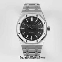 Men's Automatic Mechanical Watches Stainless Steel Sapphire