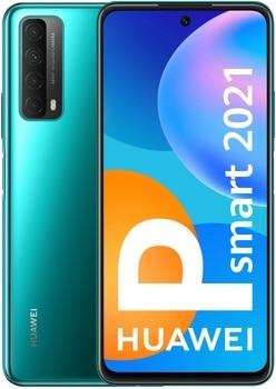 Перейти на Алиэкспресс и купить Huawei P Smart 2021 128 Гб Две Sim-карты зеленый