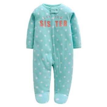 3M-12M Baby Rompers Winter Warm Fleece Clothing Set for Boys Cartoon Monkey Infant Girls Clothes Newborn Overalls Baby Jumpsuit jumpsuit lucky child for girls and boys 5 4 0m 12m children s clothes kids rompers for baby