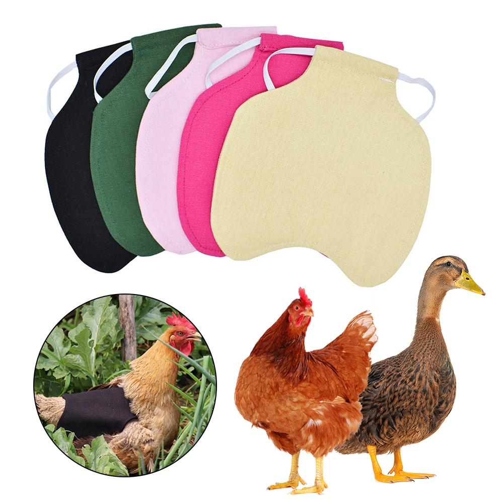 Hen Saddle Apron Feather Back Protector Single Shoulder Strap Standard Chicken Jacket Household Poultry Supplies