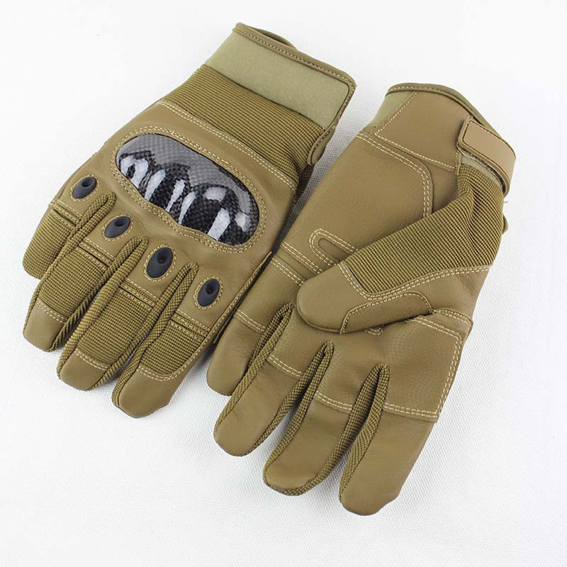 Outdoor Tactical Training All-Finger Gloves Riding Sports Fitness Protective Gloves
