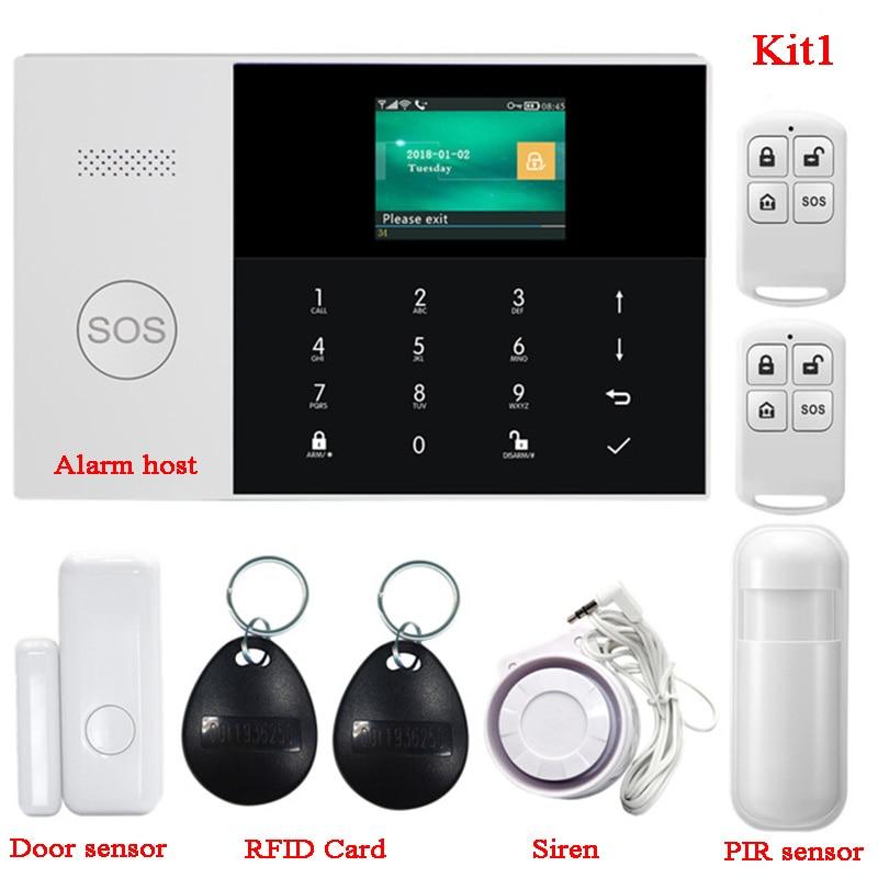 paneles casa alarma WiFi detectores de movimiento a sistema de alarma de G-homa