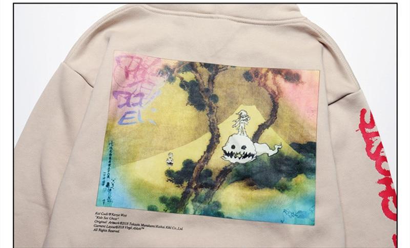 Jesus is King Lucky me l see ghost Ghost Sweatshirts Hoodie  5