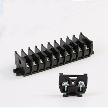 TBC-10A20A30A terminal flame retardant rail type combination terminal parallel connector 1P wire wiring row image