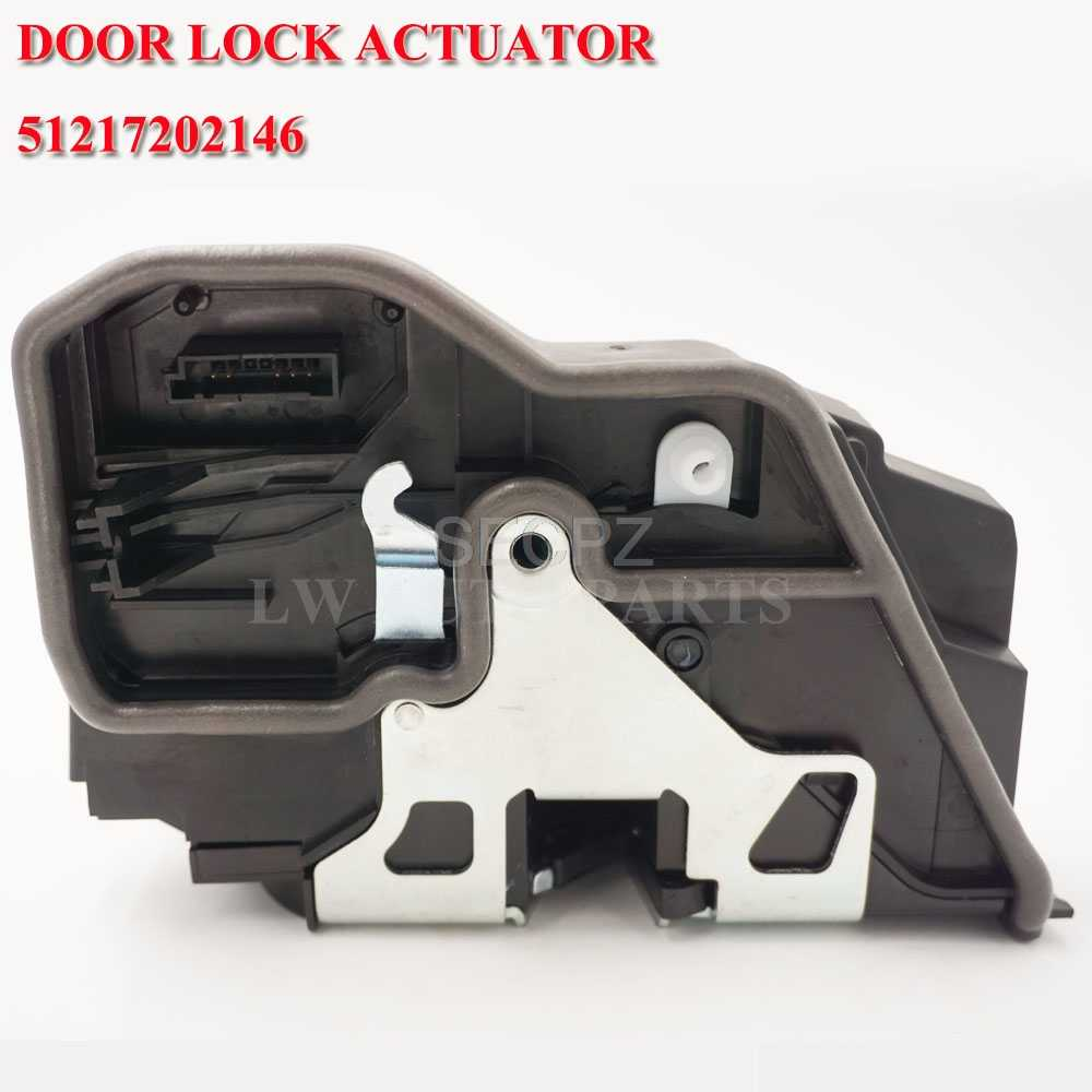 Front Right Electric Door Latch Actuator 51217202146 for BMW E83 X3 E92 335i Passenger Door Power Lock Motor
