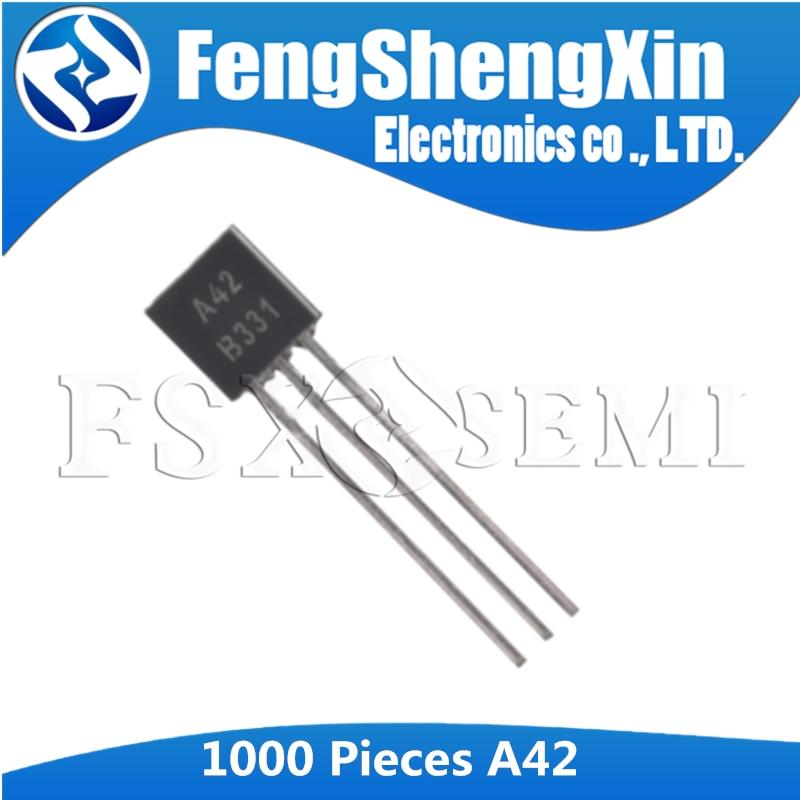 Major Brands MPSA18 Transistor MPSA18 TO-92 NPN General Purpose BIPO Low  40 pcs