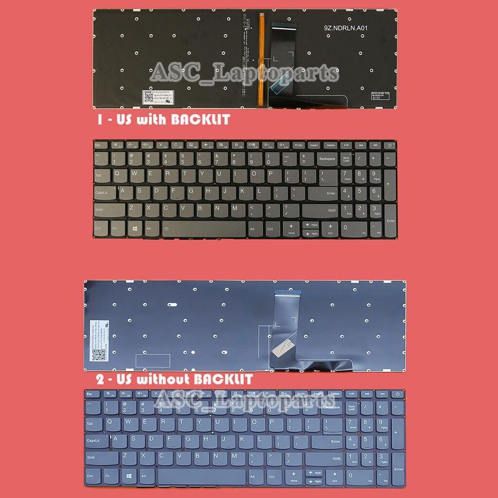 Новый английский США QWERTY клавиатура для ноутбука Lenovo IdeaPad L340-15API L340-15IWL L340-15IRH L340-15IRH L340-17API L340-17IRH со светодиодной подсветкой