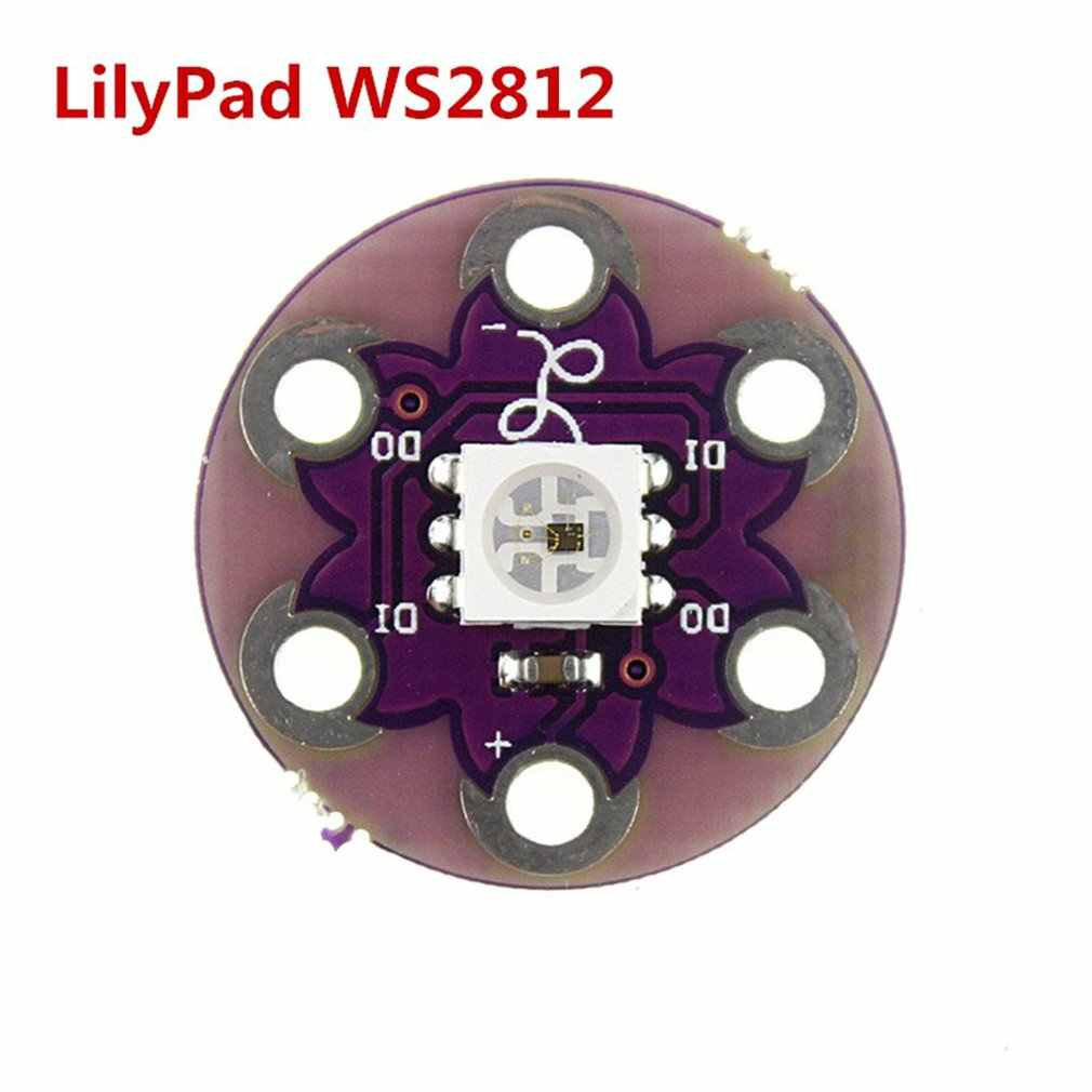2 PCS New LilyPad Pixel Board WS2812 5050 Lamp Panel LED Module for Arduino