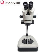 Phenix Super Widefield 7X-180X тринокулярный микроскоп стерео увеличение мощности использование для пайки ремонт электроники