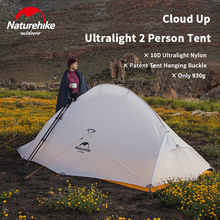 Camping-Tent Ultralight Cloud-Up Naturehike 10d UL2 Outdoor Waterproof Portable 930g