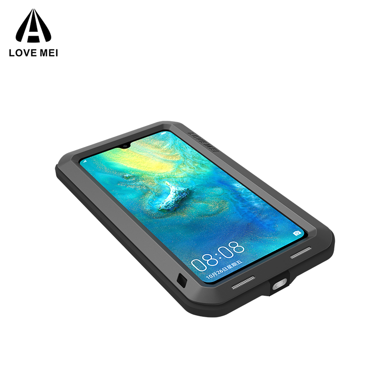 Image 4 - Original Aluminum Metal Glass Outdoor Shockproof Case for HUAWEI Mate 20/Mate10 Case for Huawei Mate 20 Lite/10 Pro Cover-in Fitted Cases from Cellphones & Telecommunications