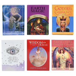 Archangel Oraclely Cards English Read Fate Card Game Board Game Lenormand moonology Earth Magic Oraclely Cards For Tarot Deck