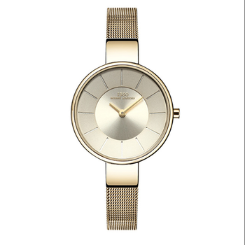 IBSO Brand 6.5MM Ultra-Thin Quartz Watch Women Stainless Steel Mesh And Leather Strap Women Watches 2019 Fashion Montre Femme ibso 7 6mm ultra thin women watches 2018 fashion waterproof quartz watch women luxury genuine leather strap montre femme