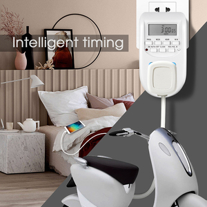 Image 5 - KEBIDU cyfrowa energia ue oszczędzanie energii Timer programowalne elektroniczne gniazdo czasowe Timer sprzęt agd do urządzeń domowych