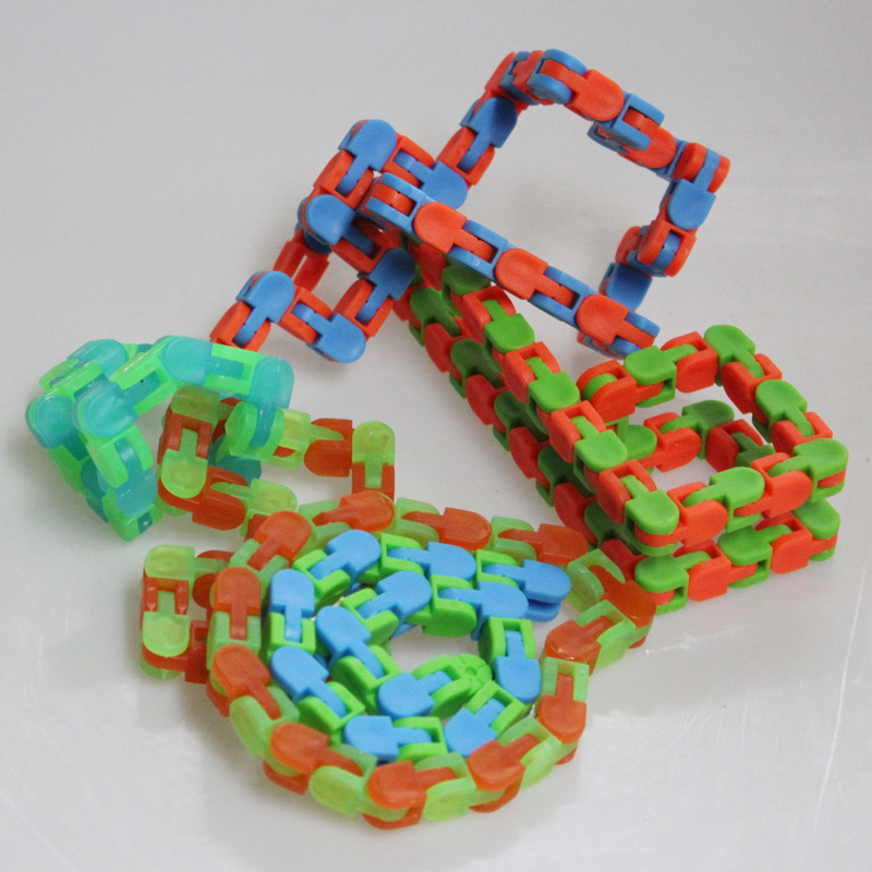 Toy Fidget-Toys Autism Wacky Tracks ADHD Finger-Sensory Adults Stress-Relief Click And img2