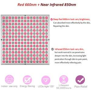 Image 2 - Professionale 45W di Calore HA CONDOTTO LA Terapia Della Luce Rossa Lampada di Pannello Per La Pelle di Riscaldamento Salute E Bellezza Sollievo Dal Dolore Fisioterapia Strumento di Massaggio