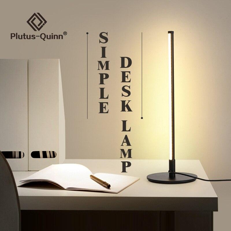 Новинка 2020, современный минималистичный стиль, Светодиодный настольный светильник, защита глаз, теплый светильник, скандинавские настольн...