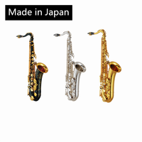 Made in Japan 875 tenor flat B Saxophone Gold lacquer Saxophone Tenor falling E Sax silver keys tenor saxphone Package mail