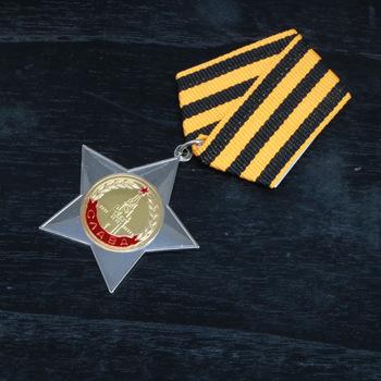 Związek radziecki Medal CCCP Order of Glory 2 Klasa zsrr Medal odznaka dekoracja domu tanie i dobre opinie Patriotyzmu Europa Metal